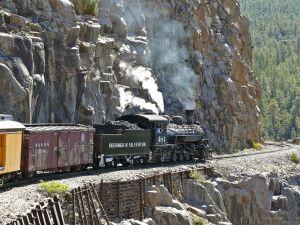 Die seit 1882 aktive Schmalspur-Dampfeisenbahn