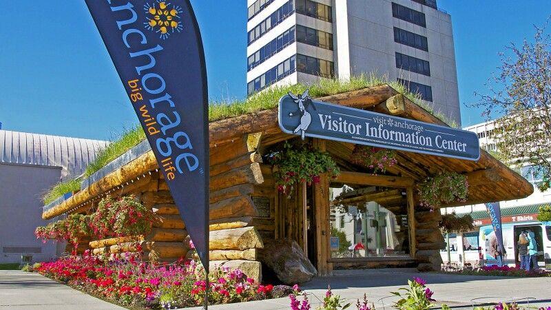 Das Besucherzentrum in Anchorage © Diamir