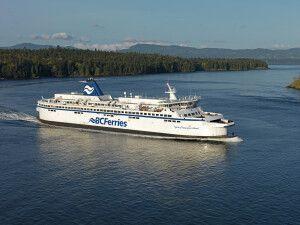 Fähre vor Vancouver Island
