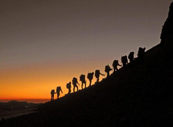 Sonnenaufgang am Aconcagua