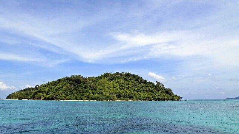 Insel in der Andamanen-See © Diamir