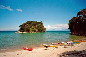 Kayak im Abel-Tasman-Nationalpark