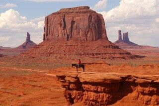 Unterwegs im Monument Valley