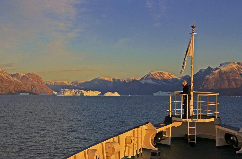 Im Scoresby-Sund, dem größten Fjordsystem der Erde