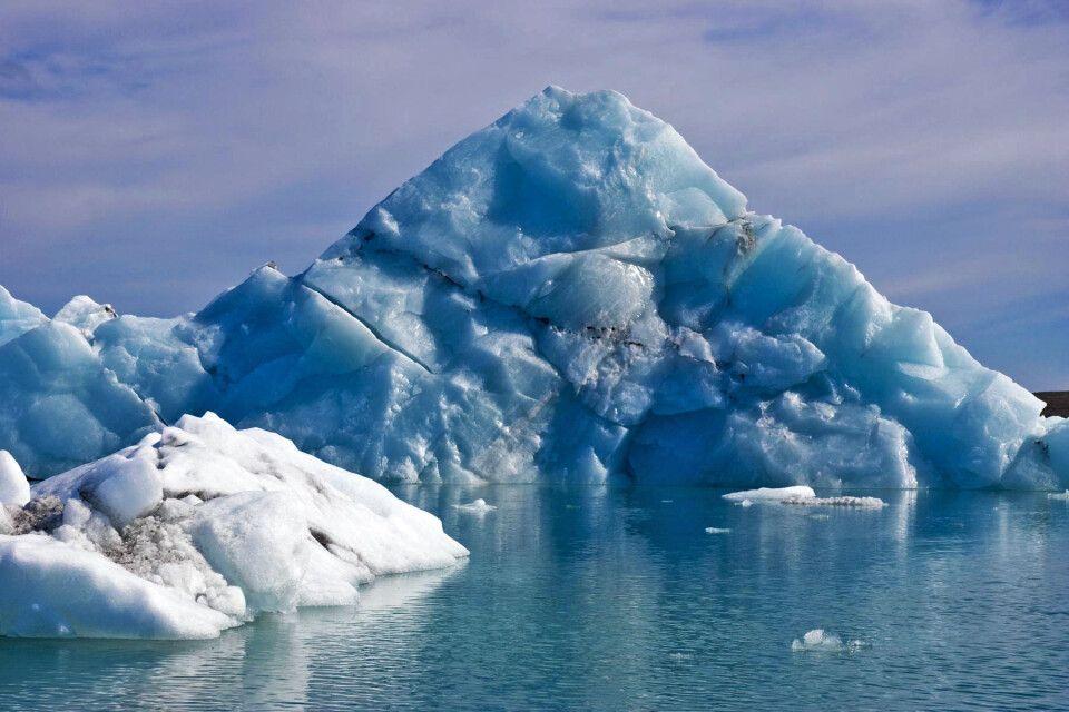 Eislagune Jökulsarlon in Südisland