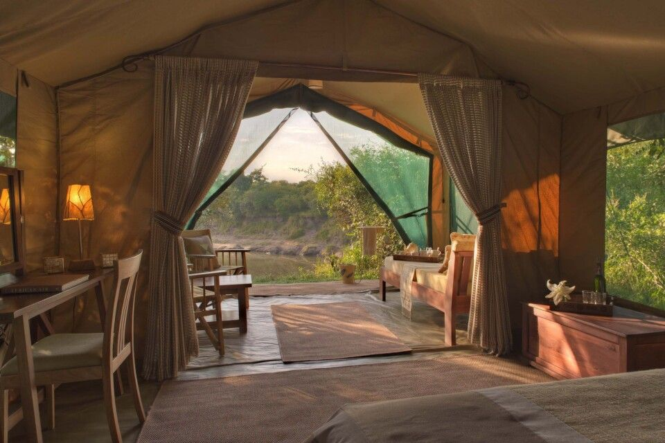 Zelt im Rekero Camp