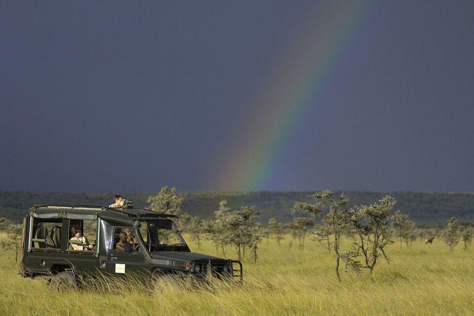 Safari durch das Olare Motorogi Schutzgebiet