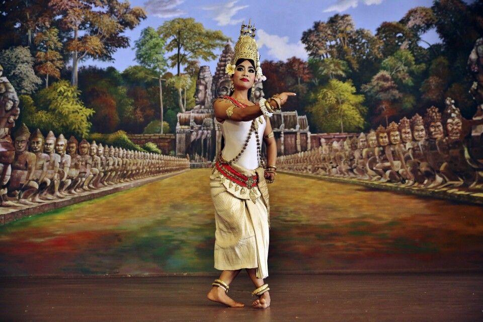 Tempeltanz der Apsara