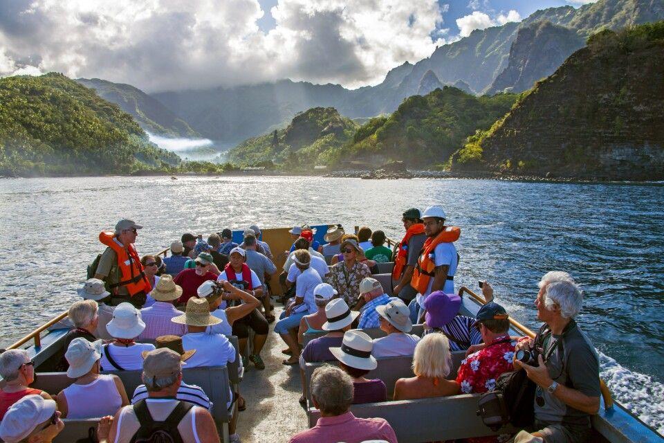 Auf dem Weg zu den Marquesas