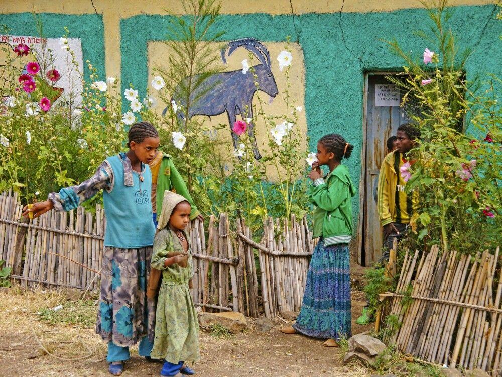 Schule in Lalibela