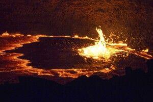 Erta Ale Vulkan, Danakil-Wüste