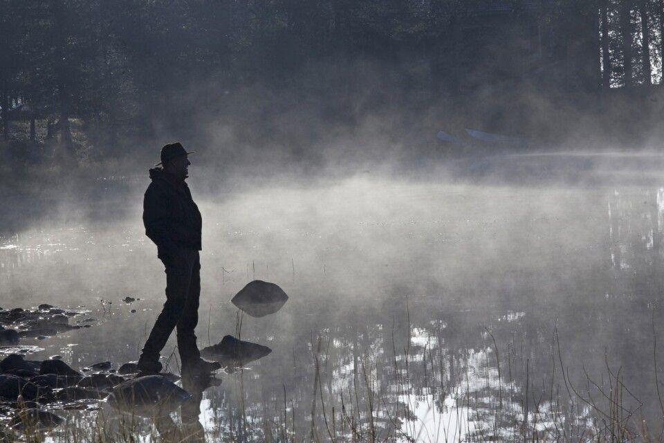 Nebelstimmung am See