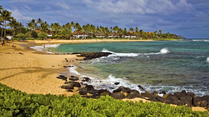Strand von Poipu auf Kauai © Diamir