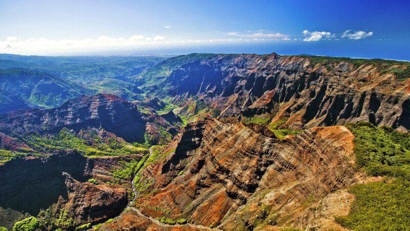 Der Waimea Canyon auf Kauai © Diamir