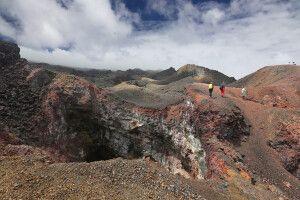 Farben und Formen in allen denkbaren Variationen sind hier auf dem Cerro Chico zu erleben.