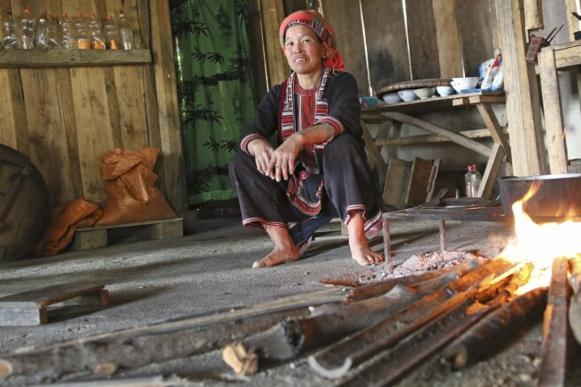Akha-Frau in Nordvietnam