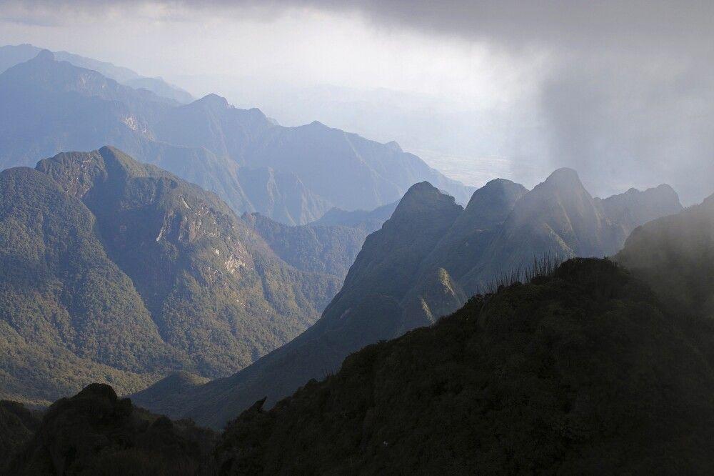 Bergwelt am Fansipan