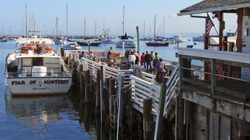 Der Hafen in der Küstenstadt Monterey © Diamir