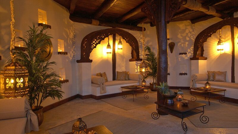 Lounge des Breezes Beach Club & Spa, The Zanzibar Collection © Diamir
