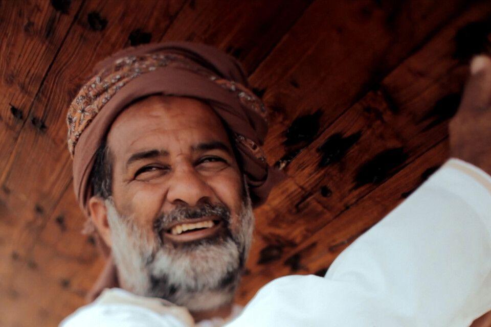 Dhowbauer im Oman
