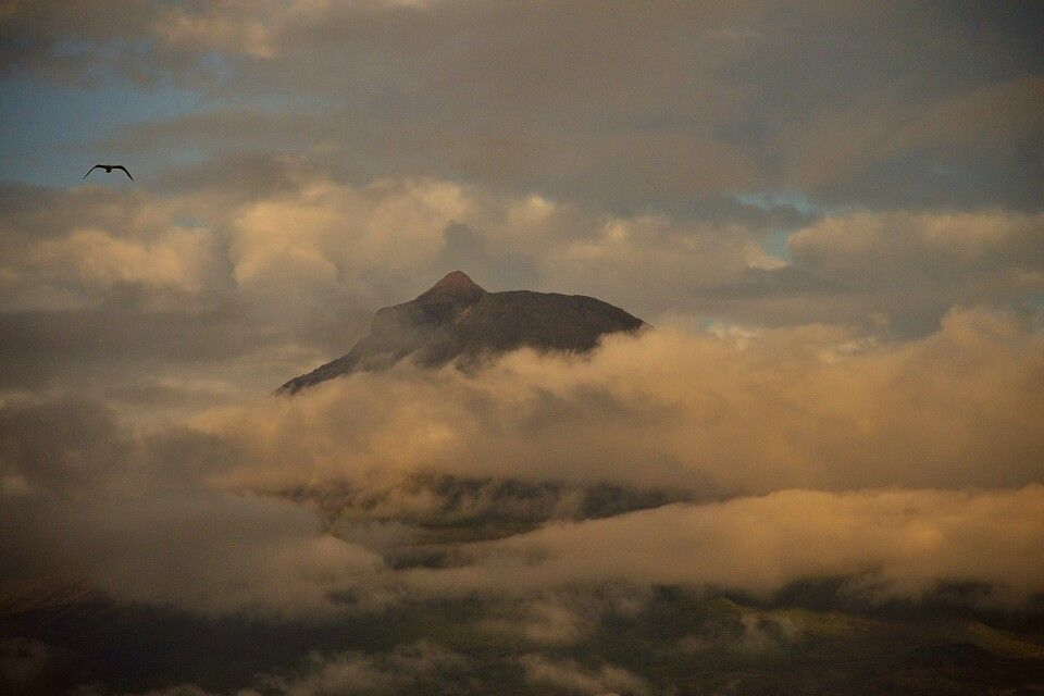 Vulkan Pico auf gleichnamiger Insel