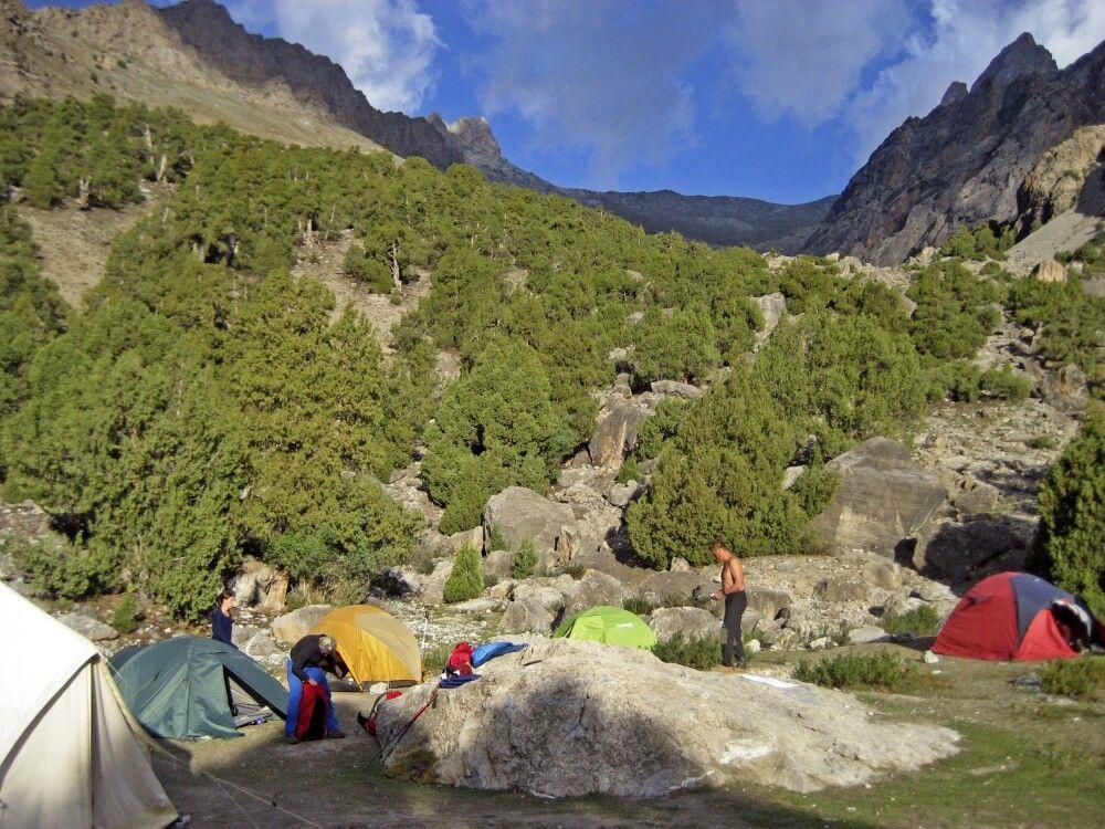 2. Camp – wieder wunderschön gelegen am Mutnoye Lake (Trüben See)