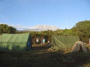 Rongai Route, First Cave Camp