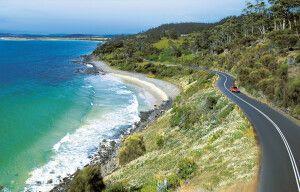 Tasmaniens Küste