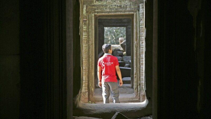 Mit DIAMIR durch die Ruinen von Angkor © Diamir