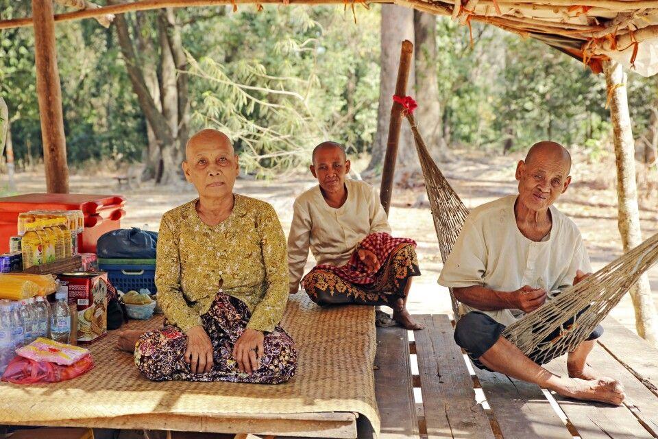 Rastplatz in Angkor