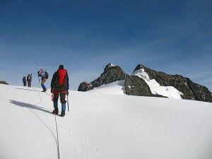 Gletscher Stanley Massiv