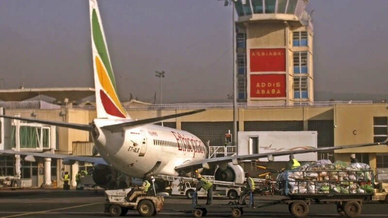 Bole-Airport, Addis Abeba © Diamir