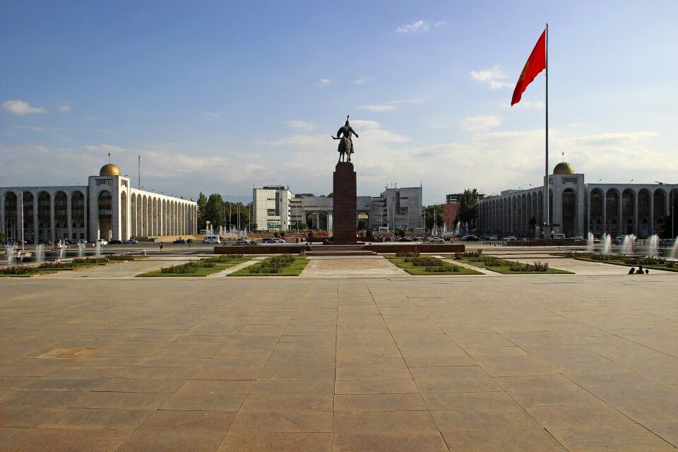 Alatoo Platz in Bishkek