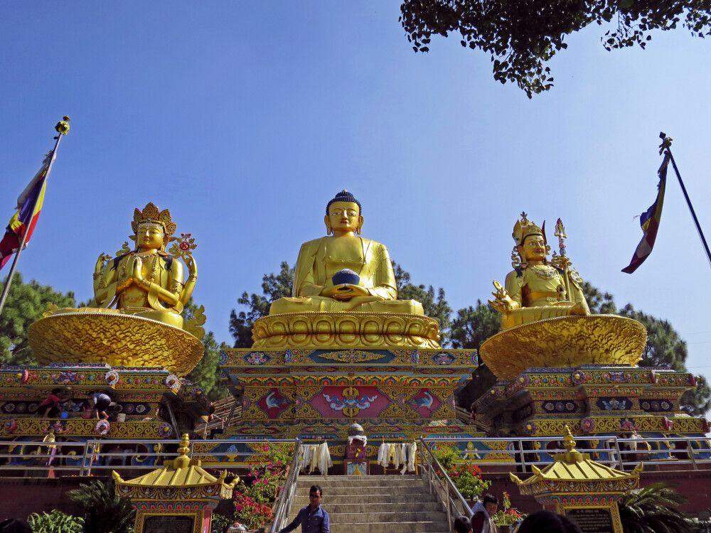 Buddha-Park in Kathmandu
