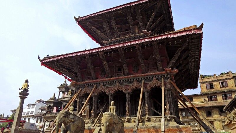 Durbar Square in Patan © Diamir