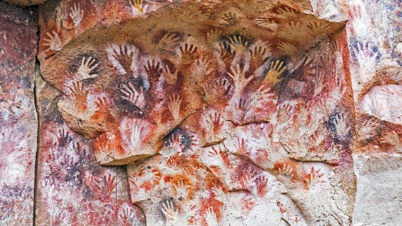 Höhlenmalerei in der Cueva de las Manos © Diamir