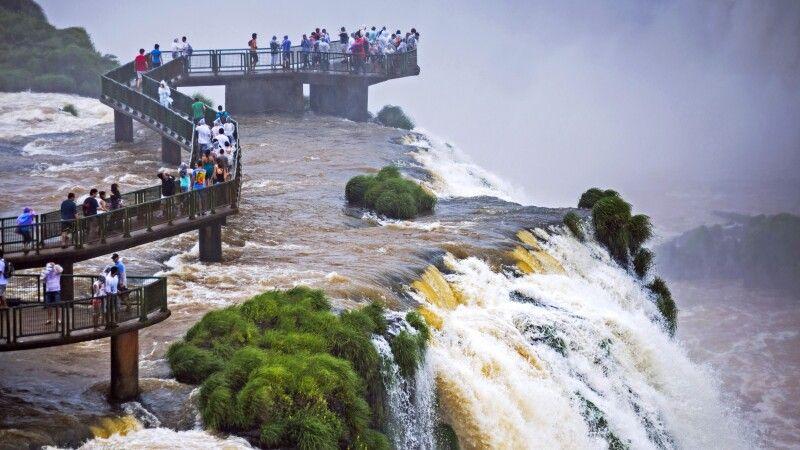 Iguazu-Wasserfälle, brasilianische Seite © Diamir