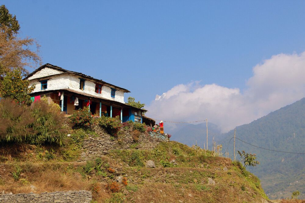 Lodge zwischen Nayapul und Ghandruk