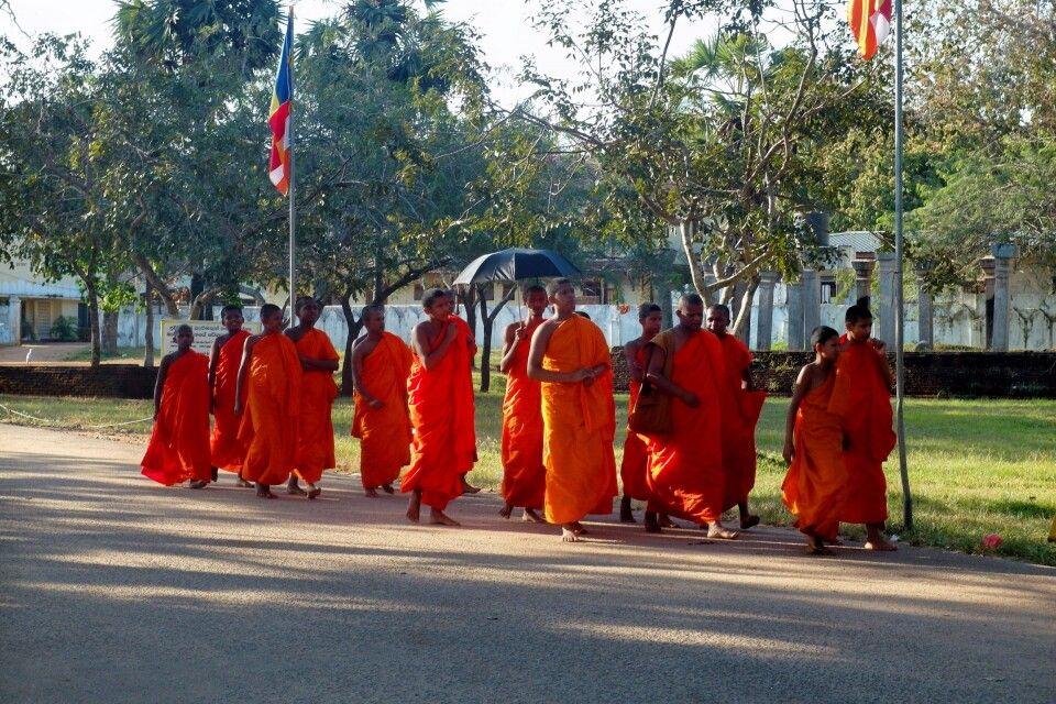 Anuradhapura: Mönche