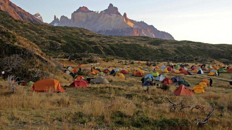 Campamento Paine Grande im Nationalpark Torres del Paine © Diamir