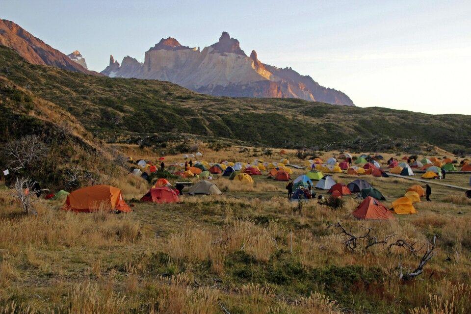 Campamento Paine Grande im Nationalpark Torres del Paine