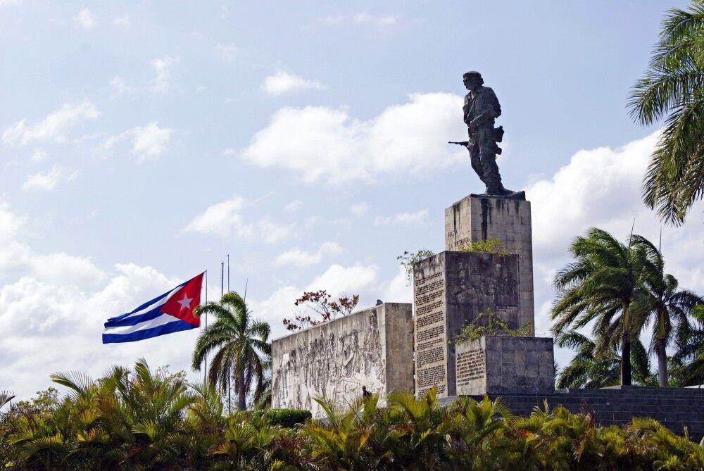 Der Komplex des Che Guevara-Mausoleum