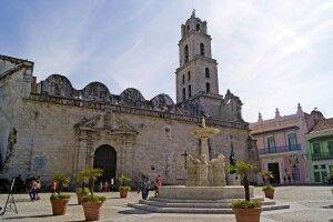 Kirche und Convent des Heiligen Francisco in Havanna