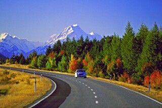 Mit dem Mietwagen über Neuseelands Südinsel