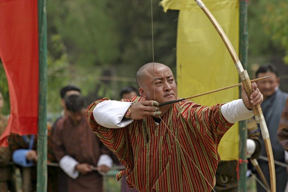 Bogenschießen – Nationalsport in Bhutan