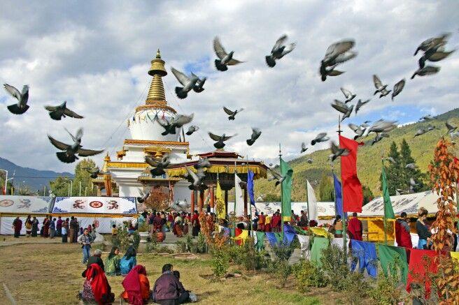 Memorial Chörten in Thimphu