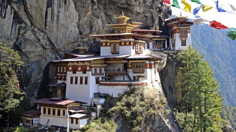Kloster Taktshang (Tigernest) © Diamir