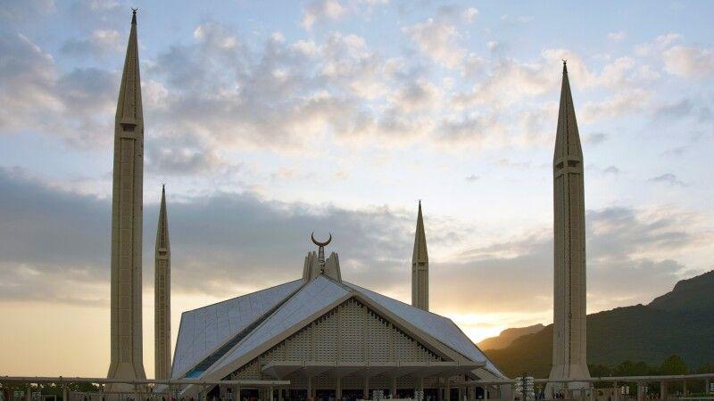 Die Faisalmoschee in Islamabad. © Diamir