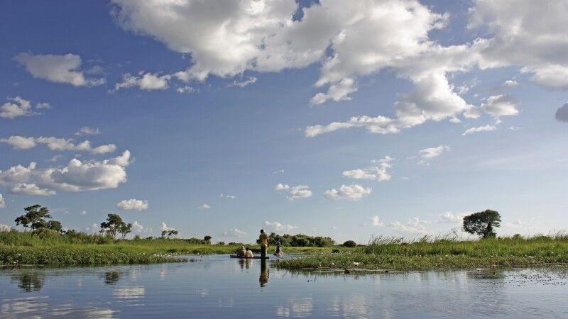 Malerisches Okavango-Delta © Diamir