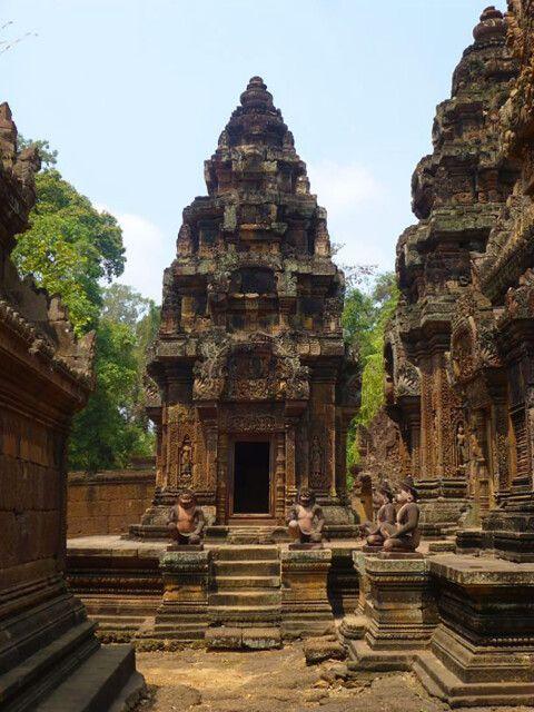 Banteay Srey in Angkor – die Zitadelle der Frauen
